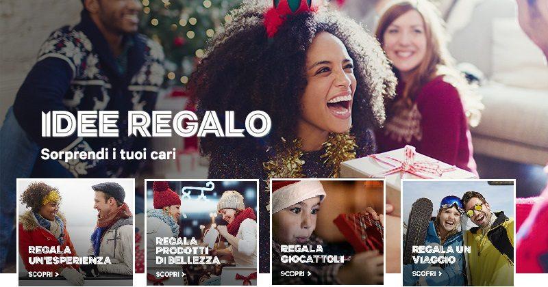 Campagna Groupon Natale 2017